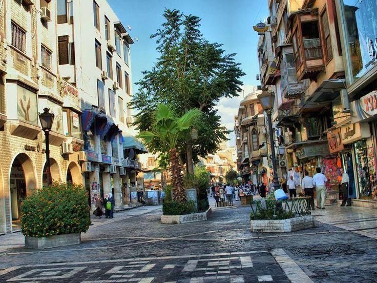 Damascus, Syria Salhiya neighborhood   All about Damascus/Syria ...