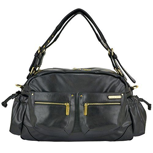 timi & leslie Jessica 7-Piece Diaper Bag Set, Black Reviews - http://www.knockoffrate.com/baby/timi-leslie-jessica-7-piece-diaper-bag-set-black-reviews/