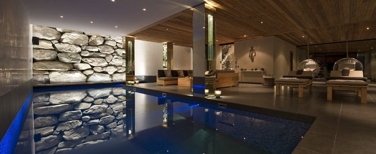 World class luxury ski holiday Chalet Norte in Verbier available to book through Ultimate Luxury Chalets. Fully Catered, Swimming Pool, Hot Tub, Sauna, Steam Room, Cinema.