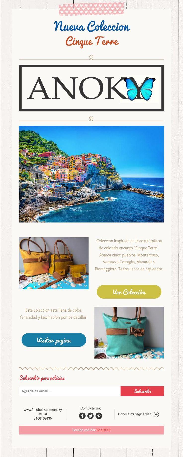 Nueva Coleccion  Cinque Terre