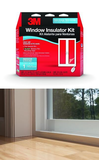 Window Film 175757 3M Indoor Patio Door Insulator Kit 1-Patio Door 1 Patio Door -u003e BUY IT NOW ONLY $11.18 on #eBay #window #indoor #patio #insulator  sc 1 st  Pinterest & Window Film 175757: 3M Indoor Patio Door Insulator Kit 1-Patio Door ...