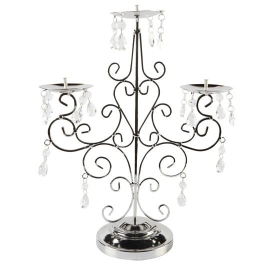 <div><div>Surround yourself with style and elegance when you use this decorative taper candle ca...