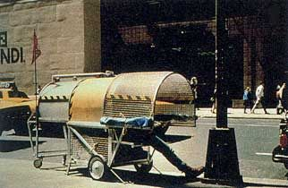 """NY """"Homeless Vehicle Project"""" of the early 1980's"""
