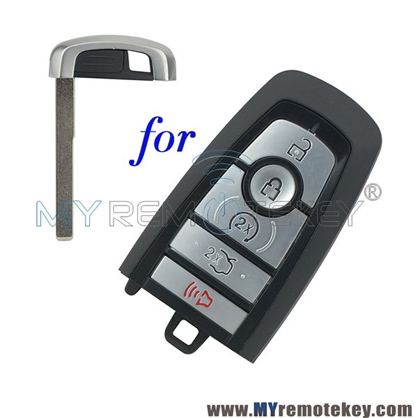 M3n A2c93142600 Smart Key Shell Case 5 Button For 2018 Ford Edge