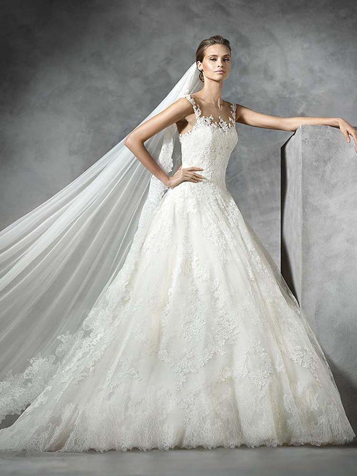 #Sale #WeddingDress #Pronovias #Presen www.prudencegowns.com/sale/