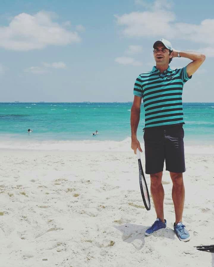 Roger Federer Journée de promotion pour la Hopman Cup -  Perth (Australie) - Fin Décember 2016