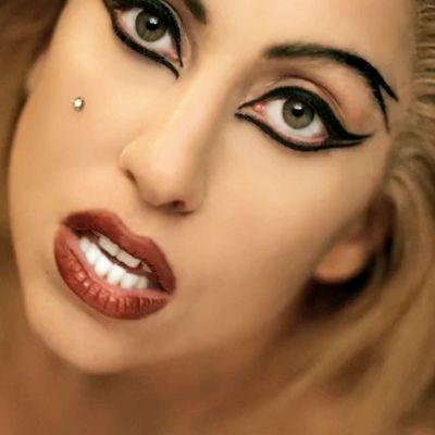 lady gaga eye makeup - Google Search