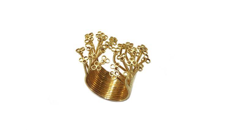 Liliana Guerreiro | Collections -  Handmade 19 carat gold ring, using a filigree technique