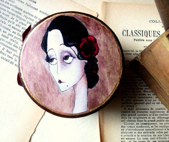 Rosalba Jewelry box by MademoiselleG on Etsy