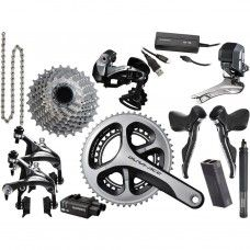 Shimano Dura Ace Di2 Group Set 9070 2x11 - Internal Cable Routing