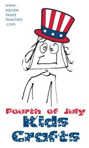 4th of July Kids Crafts ideas (and quotes about freedom to discuss with your kids)