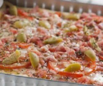Receita de torta pizza - Show de Receitas