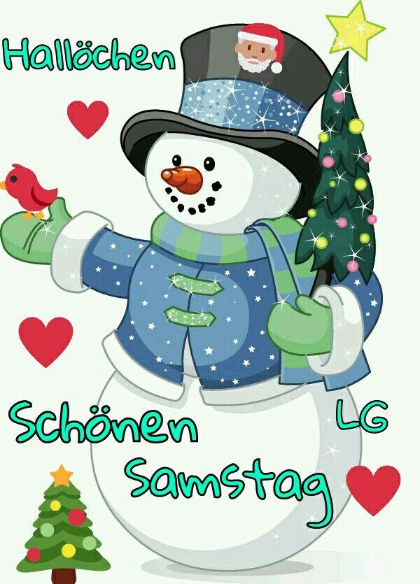 Samstag Schneemann Clipart Weihnachtsschneemann Und