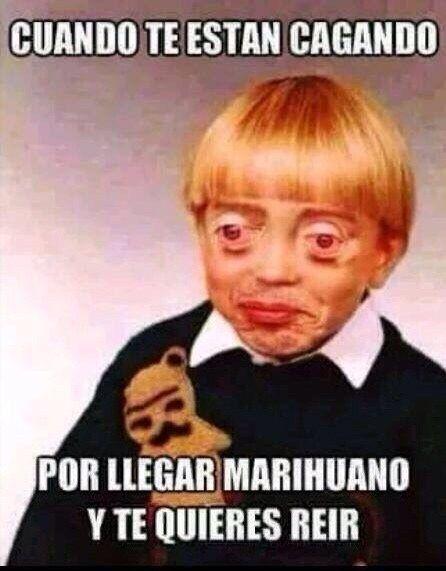 Y no puedes aguantar el payaso. | 23 Imágenes que solo le darán risa a quienes han fumado marihuana