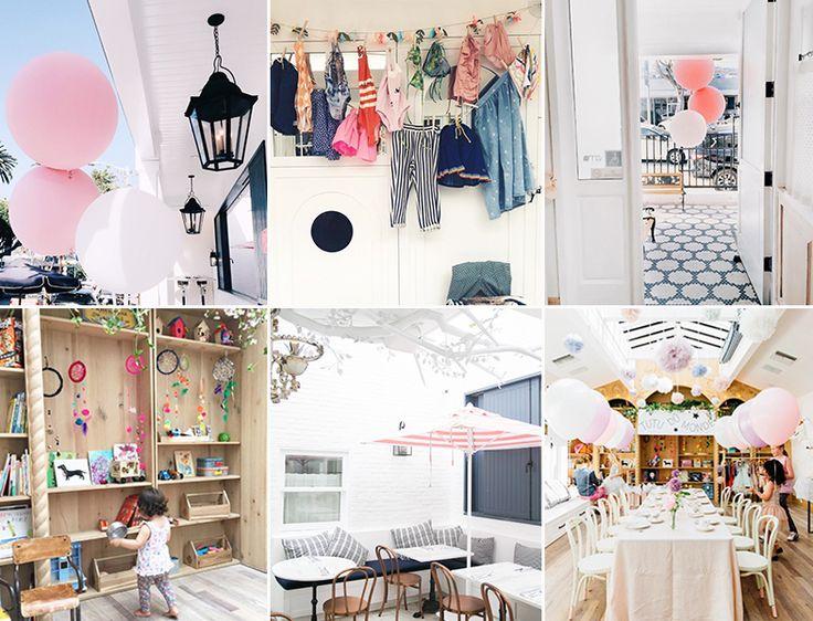 Au Fudge, el café verano de Jessica Biel | La decoración es muy instagrameable.
