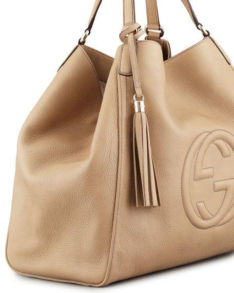 0a1475e6ab79 Soho Large A-Shape Hobo Bag, Cream   purses   가죽, 가죽소품