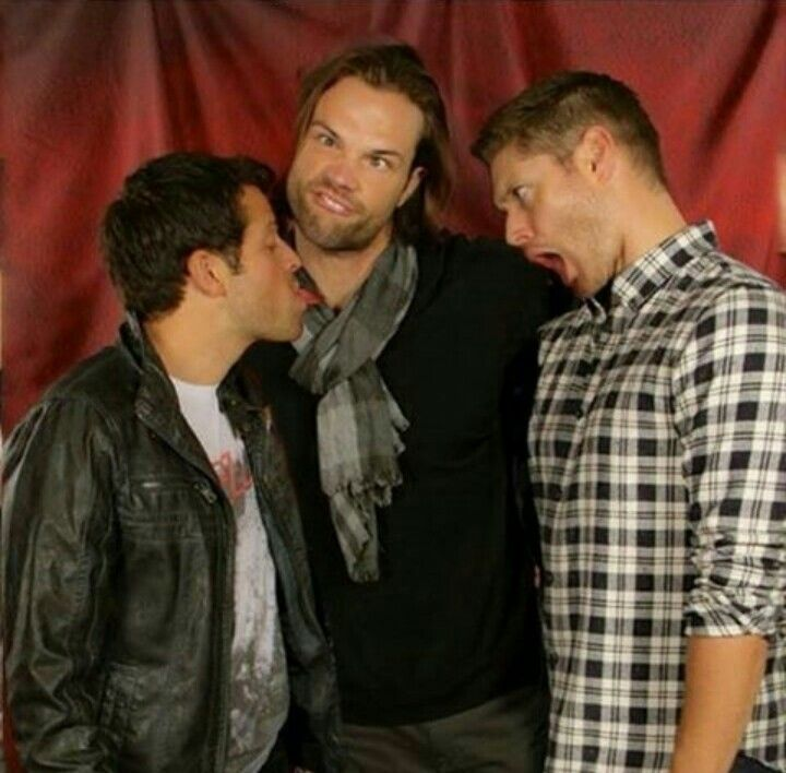 Misha | Jared | Jensen