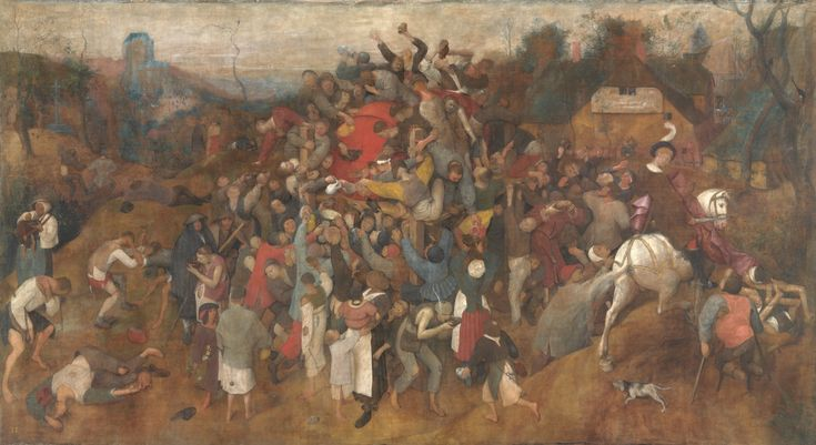"The Wine of Saint Martin's Day / El vino de la fiesta de San Martín // 1566 - 1567 // Pieter Bruegel ""the Elder"" // Museo del Prado"