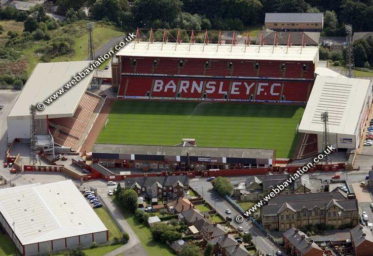 Barnsley FC Stadium aerial photograph -eb27450.jpg