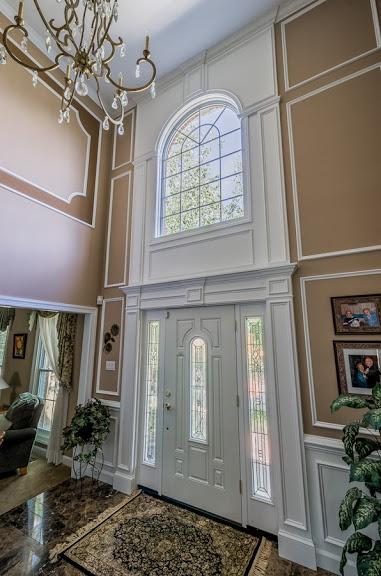 Front Door Trim Work With Images Door Frame Molding