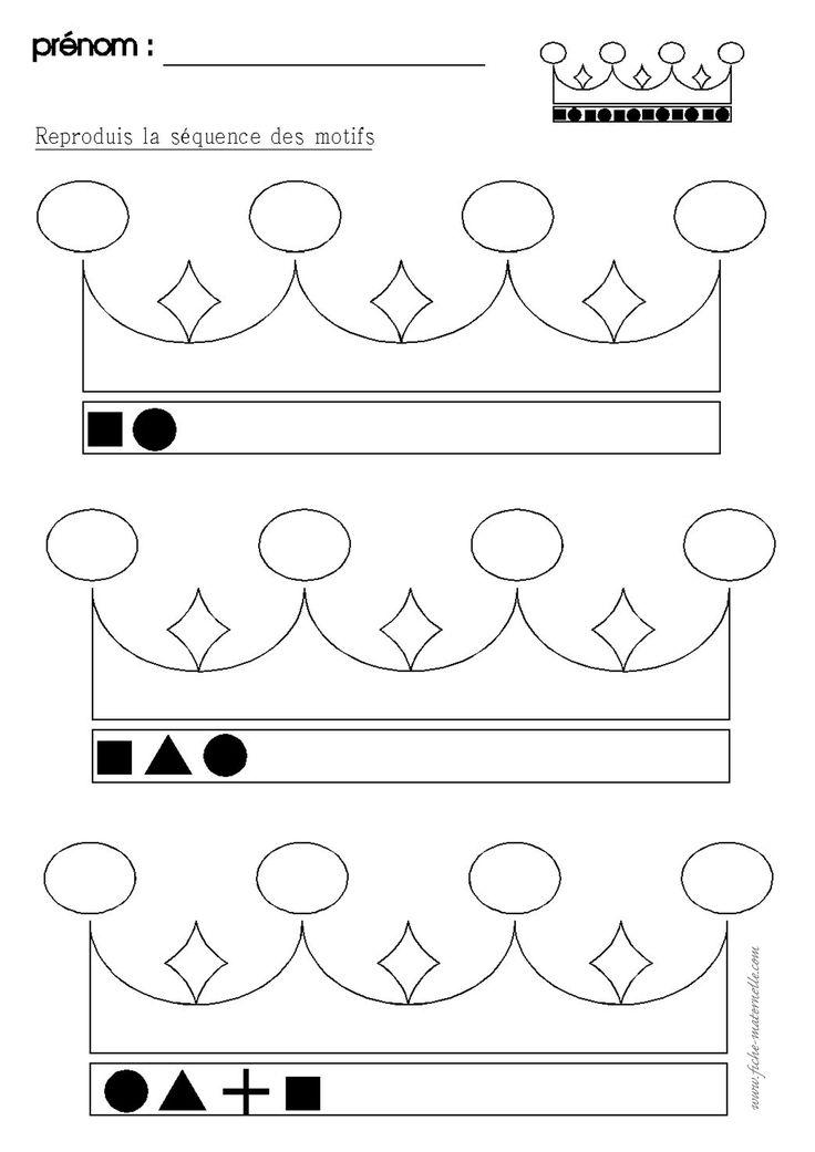 Reeksen op een kroon
