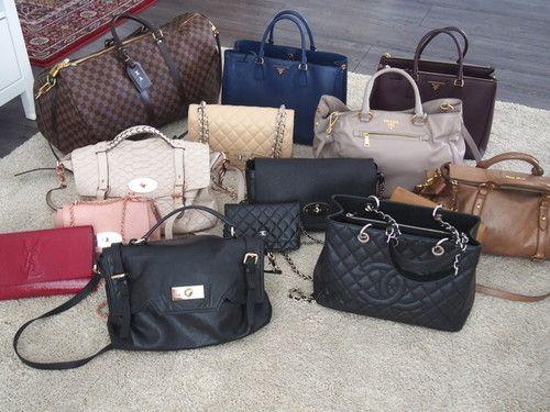 Luxus Taschen - Mulberry, Chanel, Louis Vuitton, Prada,...