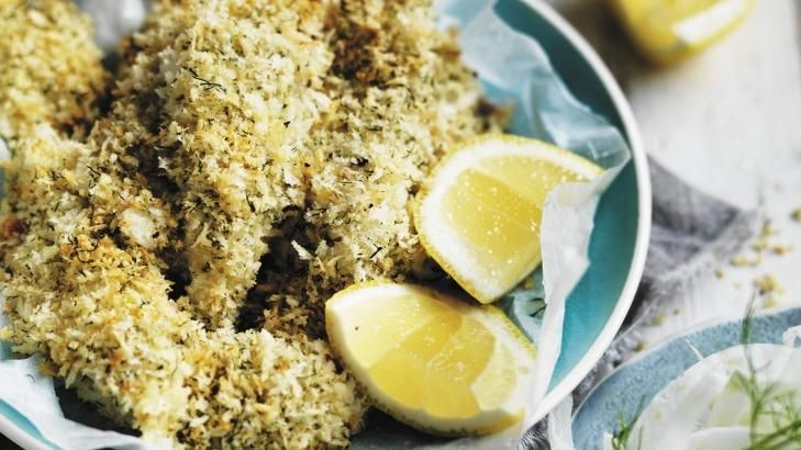 Use King George Whiting in this crunchy roasted fish dish from Neil Perry.