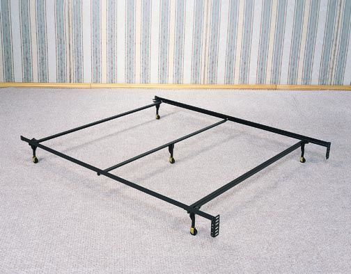 wildon home queen size bed frame with 5 legs
