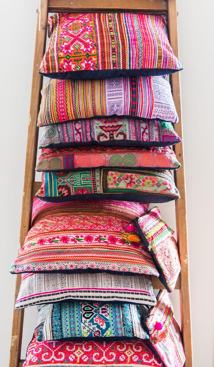 Vietnam Days by AAI made with love #cushion www.aaimadewithlove.com