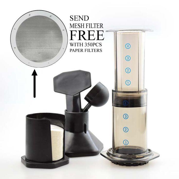 Free Shipping Best Espresso Portable Coffee Maker Haole Press Aeropress With