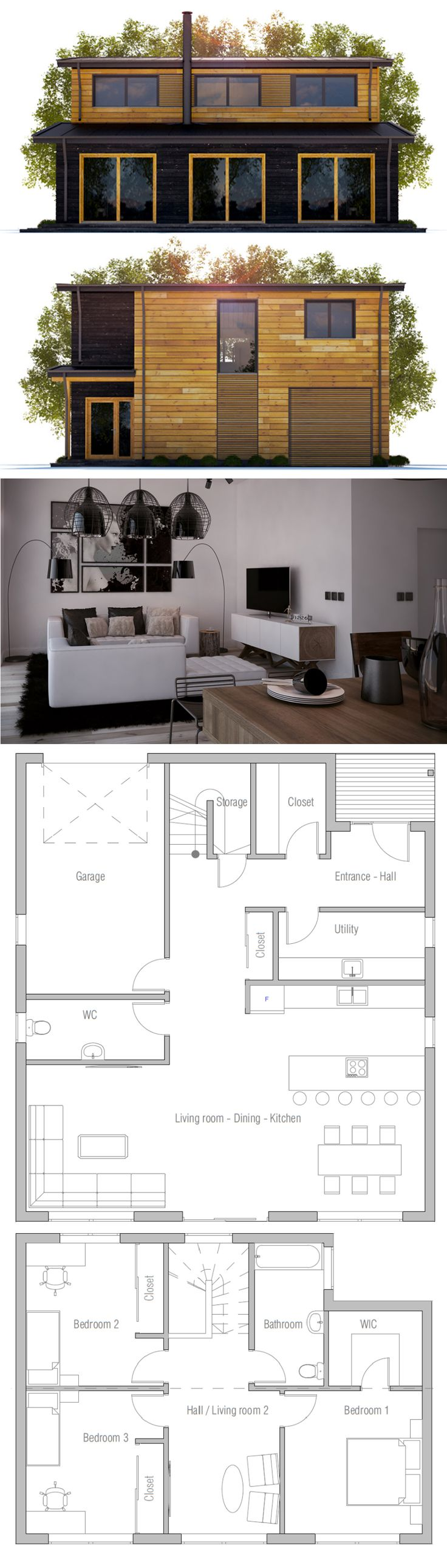 Home plans affordable house plans and small home plans on for Small affordable house plans