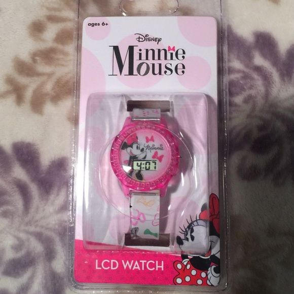 Minnie Mouse watch New super cute Minnie Mouse watch Disney Accessories Watches