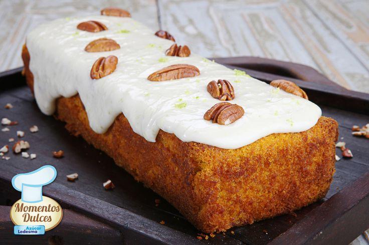 """¡""""Cake de zanahorias y especias con frosting al limón"""" de SILVIA VALDEMOROS!"""