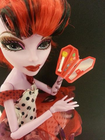 NEW Monster High Operetta doll fashion Make-up case. - Fashion Honeyz for sale ONLY £2.99