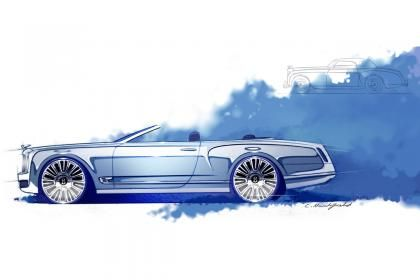Even with Poor Credit Bentley Reveals the Mulsanne Convertible At Private Party