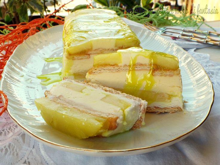 Semifreddo+ananas+mascarpone+e+limocello