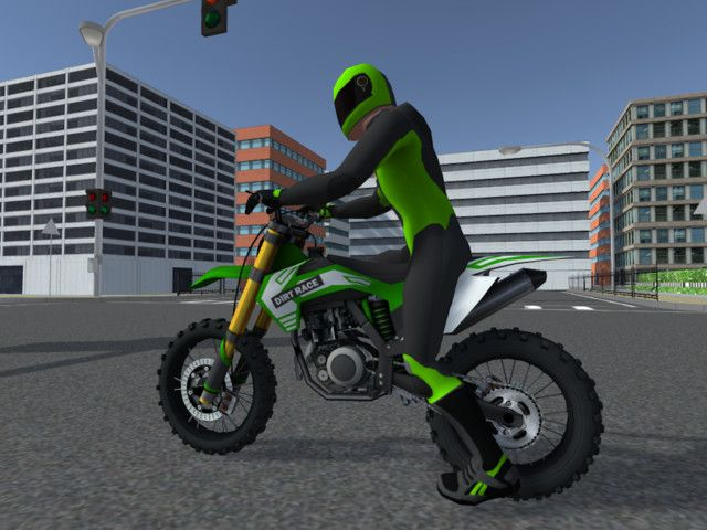 5 Low Poly Dirt Bike With Rider Sponsored Ad Bike Dirt Poly Land Bike Dirt Bike Low Poly