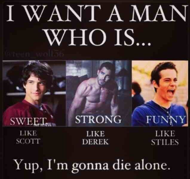 Or just Stiles... Me want Stiles. Forget Prince Charming and the horse  I want styles,     With his keep.