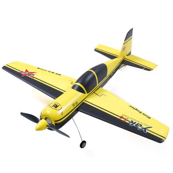 Nine Eagles YAK 54 777B 2.4GHz 4Ch RC Remote Control Airplane RTF