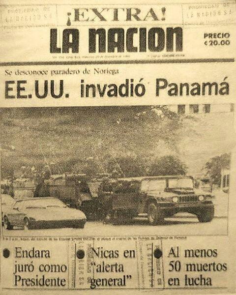 """Hace 28 años, 20 de diciembre de 1989 panamá fue victima de E.U.A por invasión y el derrocamiento de """"Manuel Antonio Noriega"""" quien estaba bajo el poder como dictadura en el gobierno panameño. - Memes graciosos #Memes #MemesFacebook #MemesInstagram #Momoddegrupos #Momos #Momosdefacebook #MemesTwitter - Buscar con Google"""
