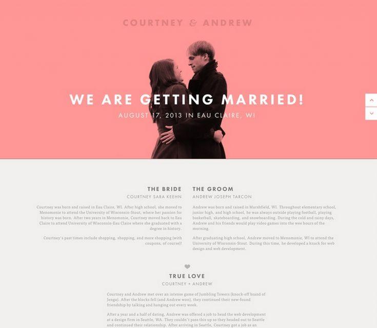 Want A Personal Wedding Website? Get Your Wedding Website Free!   Team Wedding Blog