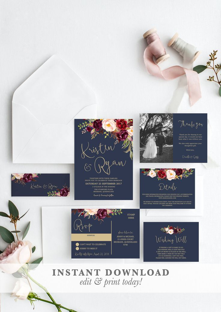 45 best instant download templates printable editable templates excited to share the latest addition to my etsy shop wedding invitation suite stopboris Choice Image