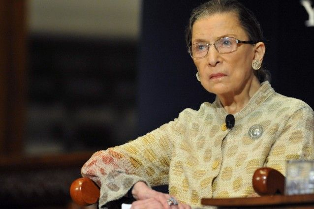 "The Supreme Court was ""once a leader in the world"" in combating racial discrimination, according to Justice Ruth Bader Ginsburg. ""What's amazing,"" she added, ""is how things have changed."""