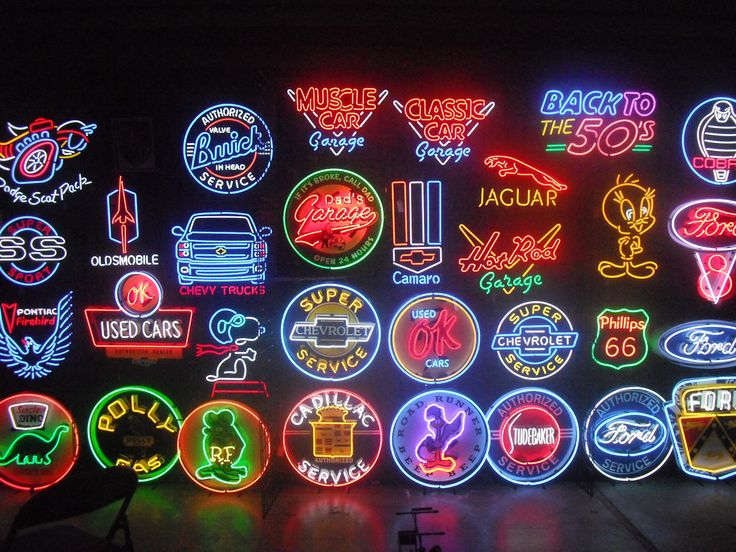 Old Neon Signs for Sale