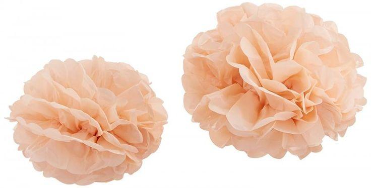 Allestimento Pom Poms Rosa Pastello Confezione da 3 pompon grandi e 2 pompon piccoli di carta velina.  Colore rosa pastello.  Ideale per decorare feste e matrimoni. - Party e Feste, Allestimenti, Decorazioni e Arredo -   Pacco da 5 pom poms contenente 3 grandi (32,5 cm) e 2 piccoli (25,5 cm).   -http://www.dettagliperfetti.com/decorazioni-e-arredo/5629-Allestimento-Pom-Poms-Ros.html -matrimonio, laurea, natale, photobooth, nascita, comunione, festa, party, accessori -€ 13.77
