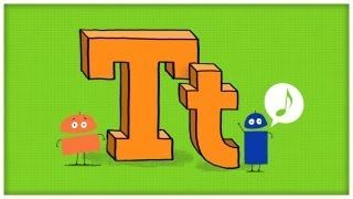 ABC Song - Letter T - Time For T by StoryBots, via YouTube.