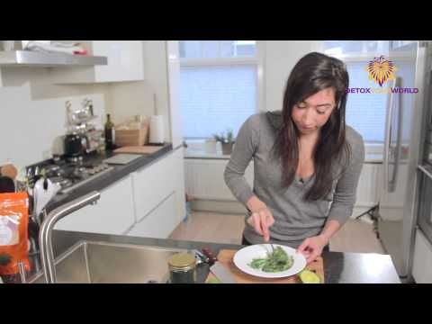 Spirulina Powder Recipe - Spirulina Guacamole - YouTube