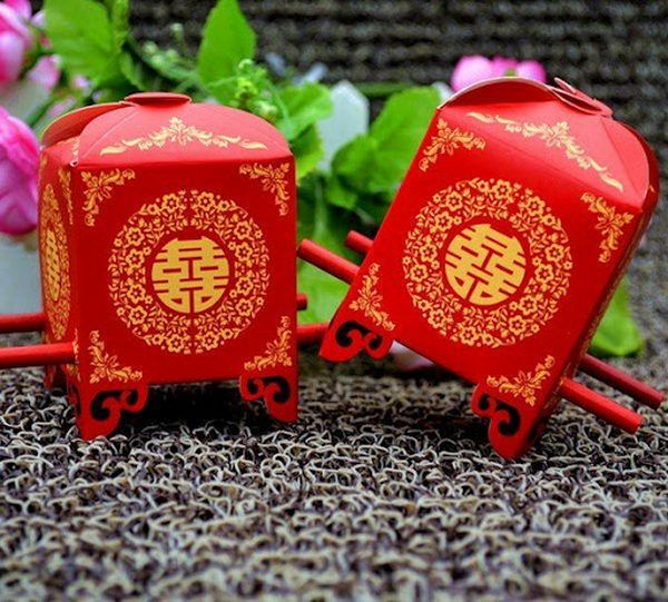 Cute Chinese Wedding Candy Boxes, http://hative.com/traditional-chinese-wedding-ideas/