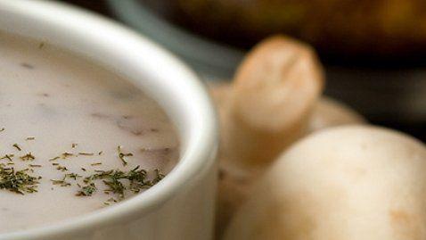 Mushroom soup - RTE Food