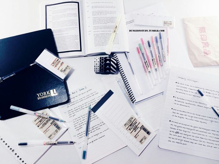 Taken from my tumblr (studyblr). @dungeonstudy